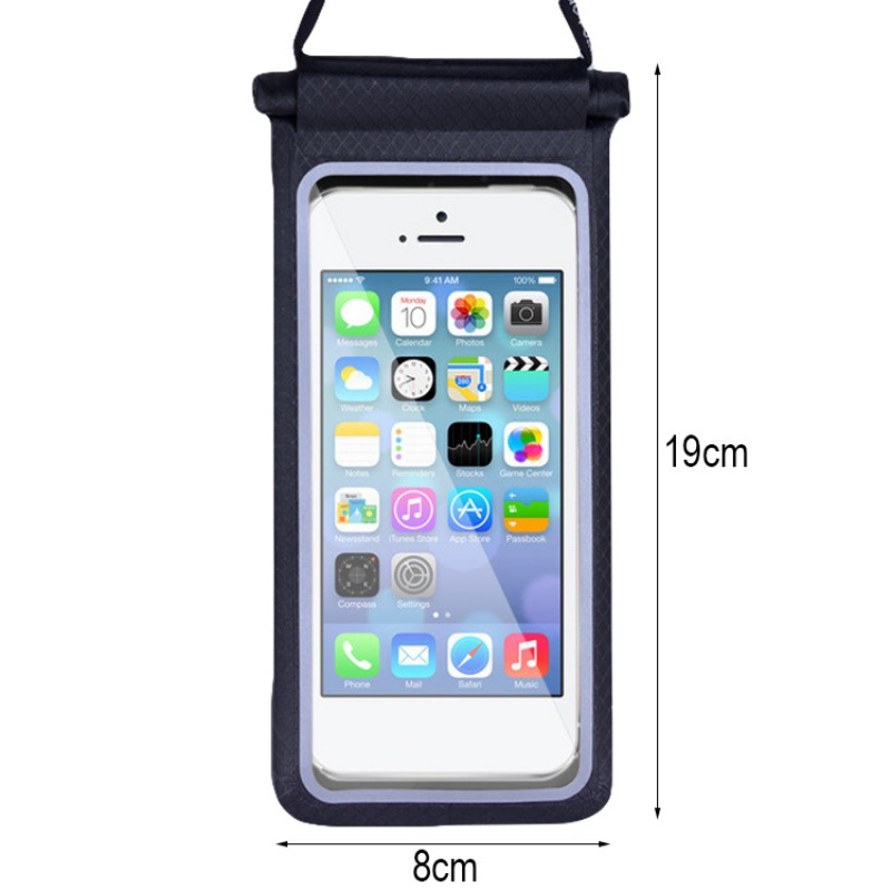 PVC New Sport Waterproof Bag Phone Pouch Cover Mobile Case Beach Outdoor Swimming Pool Snorkeling Bag For Mobile Phone