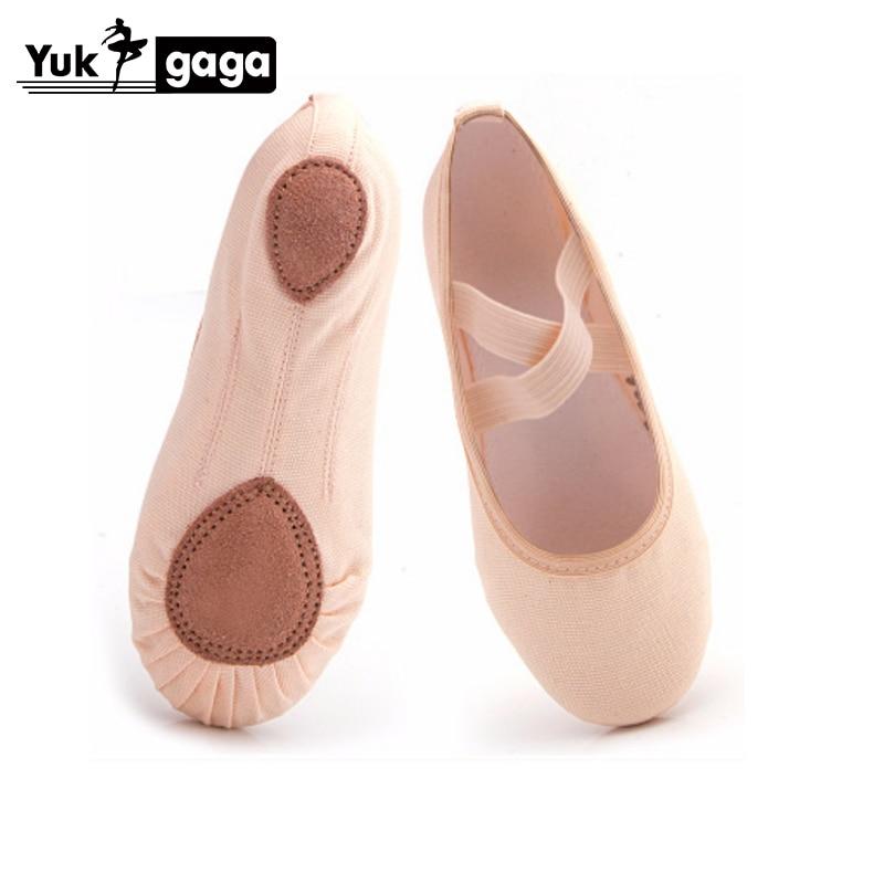 Yoga Slippers Gym Teacher Yoga Ballet Dance Shoes For Girls Women Ballet Shoes Canvas Kids Children 2019