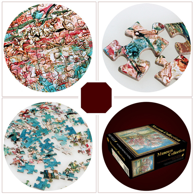 Jigsaw Puzzles 1500 Pieces Puzzles 60*80 cm Adult Children's Educational Holiday Puzzle Parent-child Toy Educational Toys Gifts