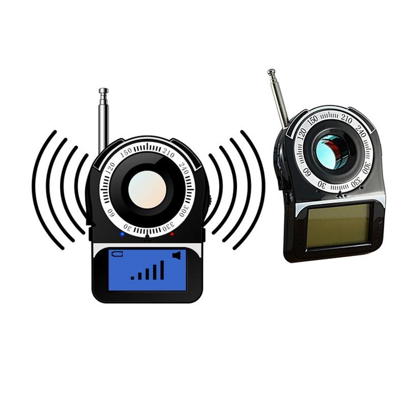 Hidden Camera Spy Camera Wiretap Bug Finder GPS GSM Sound Signal WIFI G4 RF Tracker Anti Candid Camera Spy Devices Detector