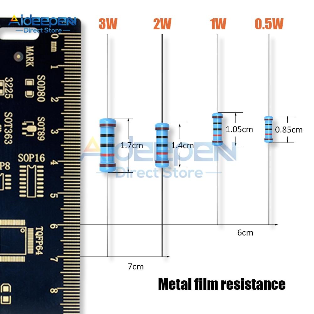 Resistor de película gruesa atornillado RTS-01-100-470R 470 100W 5/% 38x25x2mm Telpod