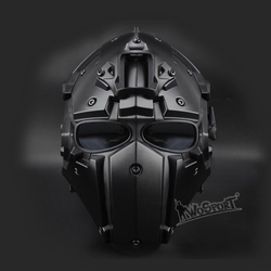Nuovo Tactical Airsoft Pieno Viso Maschera di Paintball Esercito Militare Regolabile di Protezione Cs Gioco Maschera di Protezione Del Casco