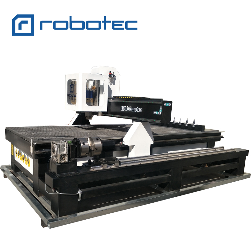 1325 Woodworking Auto Tool Changer CNC Router Tool Holder/ 4 Axis Wood Carving Milling Machine 1325 1530 2030 Price With CE
