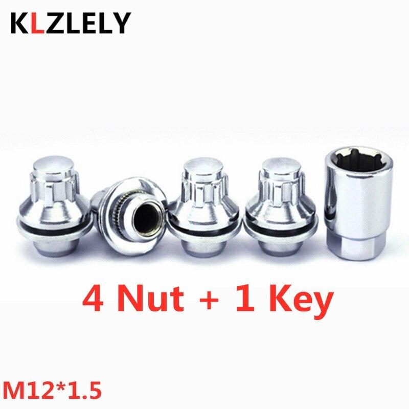 1 комплект M12 * 1,5 противоугонные стандартные гайки для колес TOYOTA TAZZ CONQUEST PORTE 2 SPADE VANGUARD SOLUNA 90942-01083