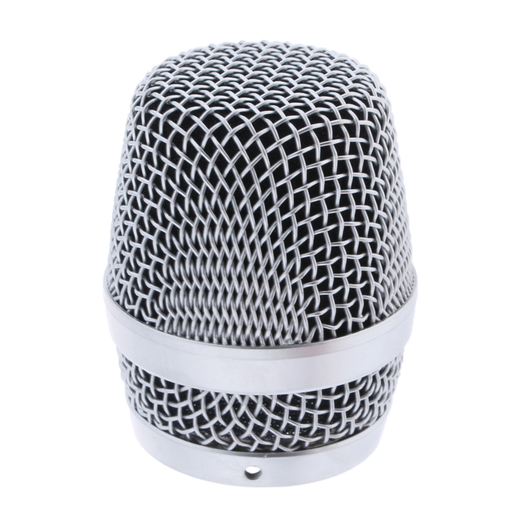 Steel Mesh Microphone Mic Grille Head For Microphone Replacement Parts