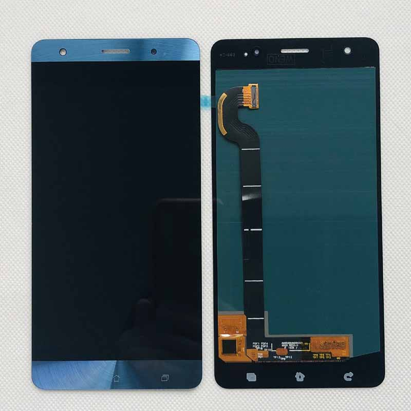 Image 3 - gold blue Amoled Original For Asus Zenfone 3 Deluxe ZS570KL Z016D  lcd display with touch screenr phone replacement Z016SMobile Phone LCD  Screens