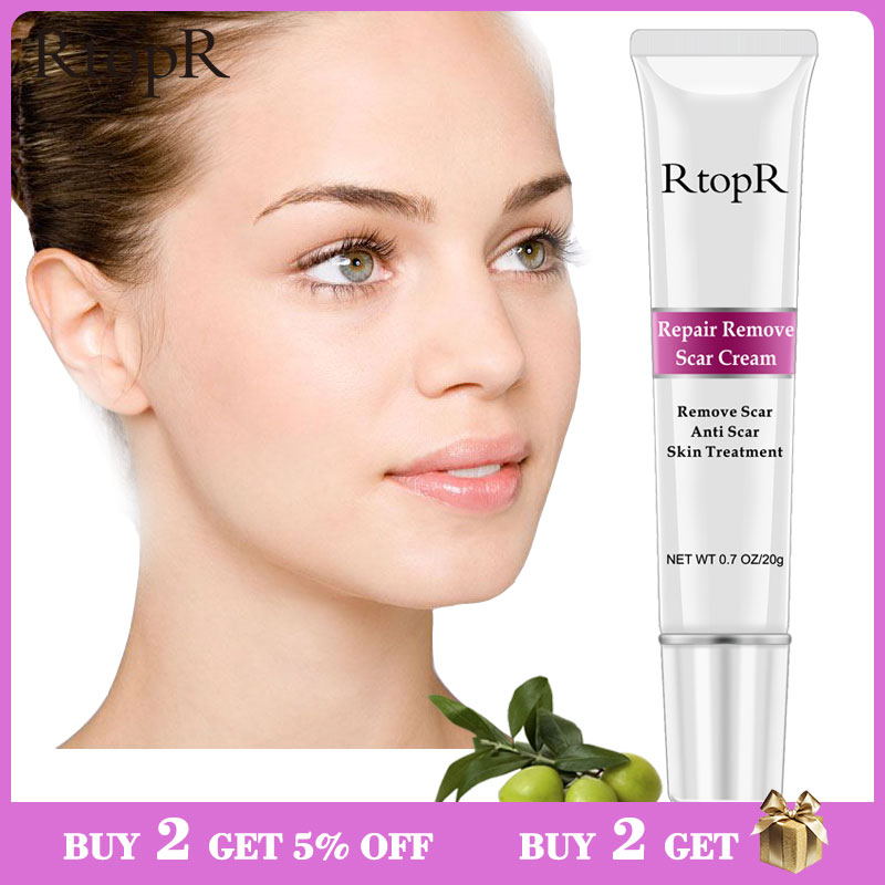 Rtopr Acne Scar Stretch Marks Remover Cream Skin Repair Face Cream