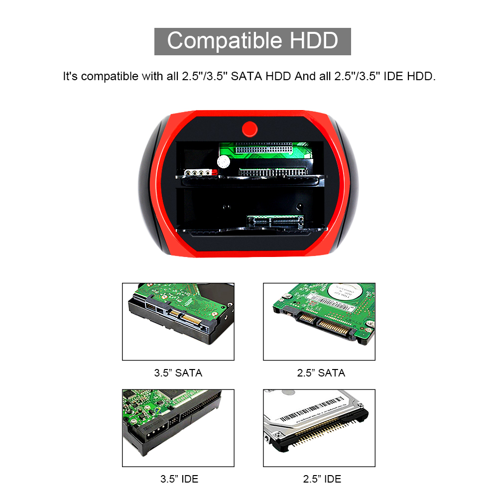 Compatible HDD-