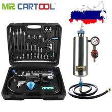 Mr Cartool C100 автомобильный инжектор топлива очиститель без демонтажа бутылки бензина Авто инжектор топлива очистка и тестирование системы