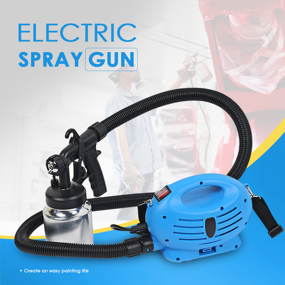 GT - 001 - 650 650W 800ml Container Electric Paint Spray Gun Adjustable Spray Output High Power Home Electric Paint Sprayer