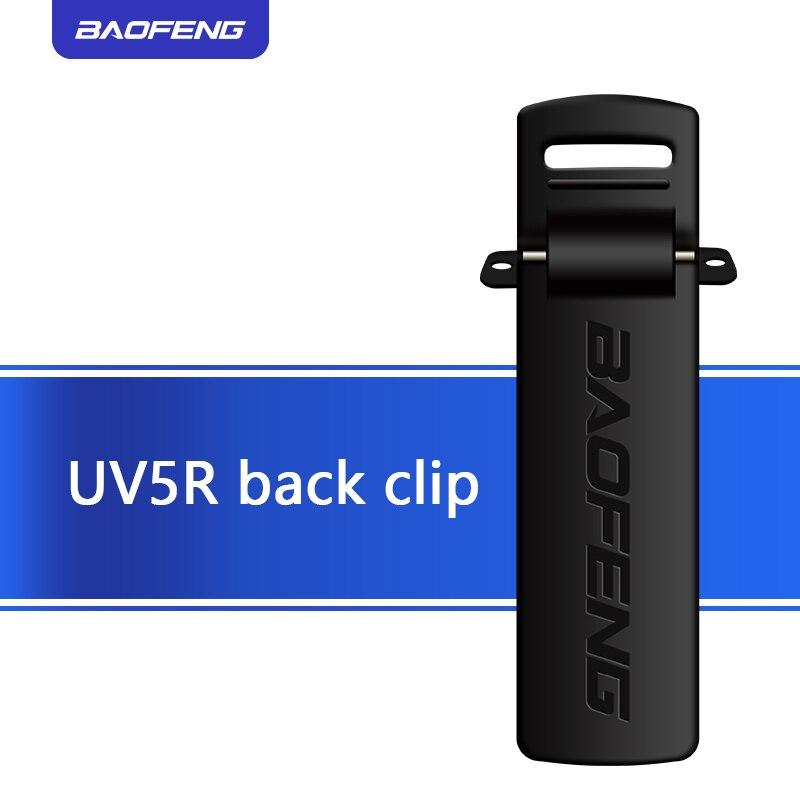10pcs Baofeng UV-5R UV5RHP UV5R Back Belt Clip For Pofung UV5R Retevis RT-5R 2 Way Radio Walkie Talkie Accessories