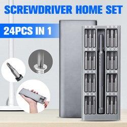 Zestaw precyzyjnych śrubokrętów 24 w 1 60HRC bity magnetyczne zestaw śrubokrętów precyzyjnych zestaw części zestaw domowy narzędzia do naprawy Smart Home Set w Inteligentny pilot zdalnego sterowania od Elektronika użytkowa na