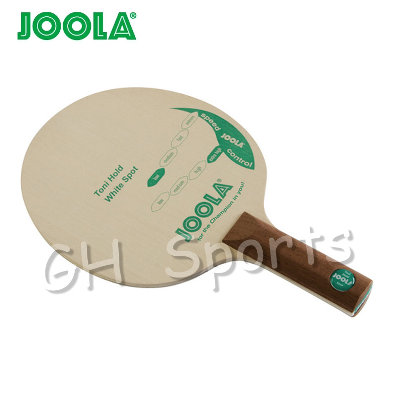 Joola TONI HOLD White Spot (Control & Chop, Classic Defensive) Soft DEF Play Table Tennis Blade Chop Racket Ping Pong Bat Paddle