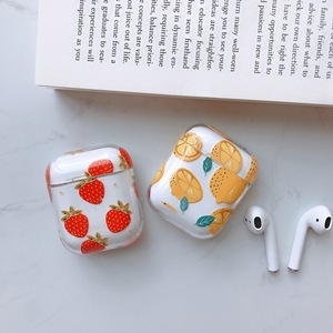 Image 3 - Cute Cartoon Wireless Bluetooth Transparent Earphone Case For Apple AirPods Slim Thin Hard box Headphones Case Protective Cover