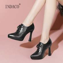 Осенняя женская обувь; Женские туфли лодочки; Обувь на платформе