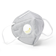 KN95 Nonwoven Mask Adult 95% Filtration PM 2.5 Air Valved Anti Dust Masks N95 Respirator Mouth Face Gauze Filter Mask