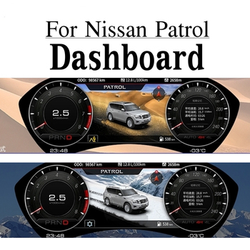 New Original Dashboard LCD Display For Nissan Patrol High resolution Color LCD Screen