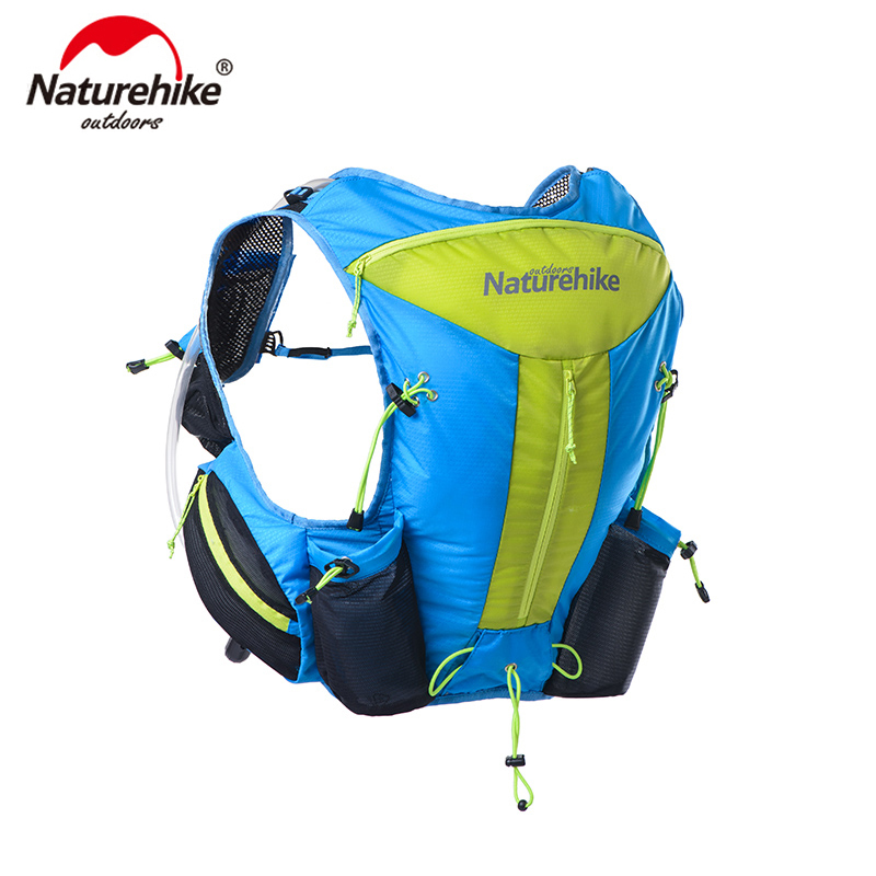 Naturehike Marathon Hydration Vest Pack And 1.5L Water Bag Cycling Hiking Bag Outdoor Sport Running Backpack
