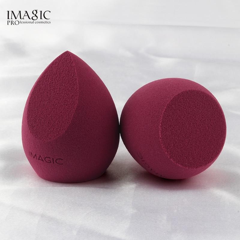 IMAGIC губка для макияжа Профессиональный косметический спонж для отбеливающий увлажняющий bb-крем Макияж Блендер мягкая губка для воды слоен...
