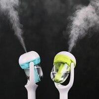Mini purificador de ar aromaterapia difusor de óleo essencial névoa criador fogger 12 v carro vapor umidificador de ar aroma difusor Umidificador de ar para carro     -
