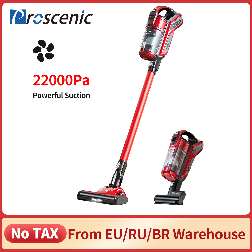 Proscenic I9 22000Pa Handheld Cordless Vacuum Cleaner Cyclone Portable Vacuum Cleaner