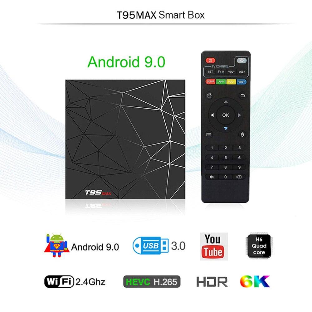 IPTV Francia Arabo Portogallo Italia Abbonamento IPTV T95 MAX Android 9.0 Tv Box SUBTV IPTV Germania Belgio Spagna Francia IP TV - 3