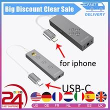 Dodocool Iluminación USB tipo C/MFI certificada de alta resolución, auriculares con micrófono de 3,5mm, adaptador de Cable, Jack de 3,5mm, Cable auxiliar, en línea