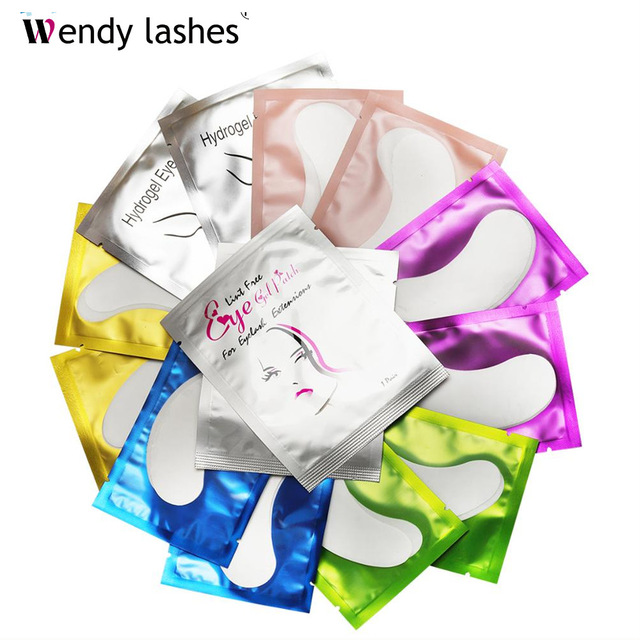 50/100 pieces Under Eyepads for Eyelash Extension Eyelash Under Eye Pads for Grafting Eyelash Patches Tools 1
