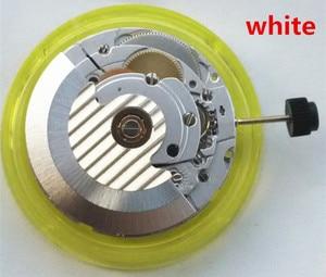 Image 2 - TianJin make Mechanical Autoamtic movement CLONE ETA 2824 movement date display fit for mens watch white 2824