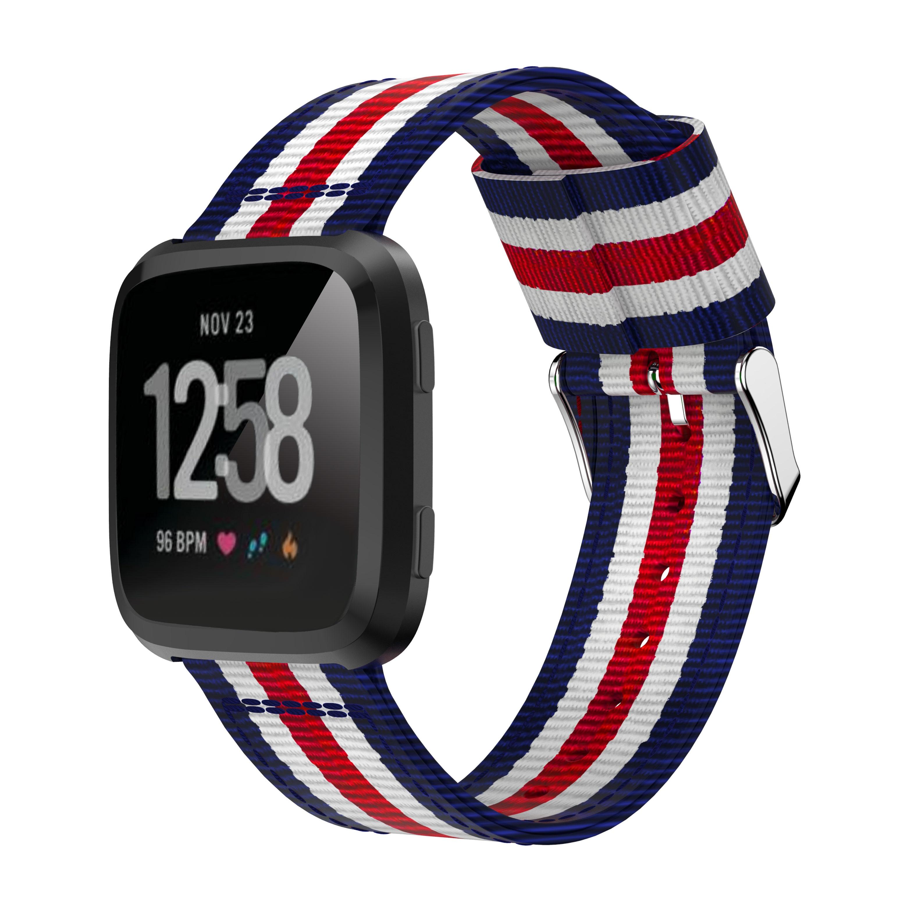 Yayuu 22mm universal Top Quality Vertical Nylon WatchBand Sports Strap Adjustable Wristband Replacement Smart Watch Straps