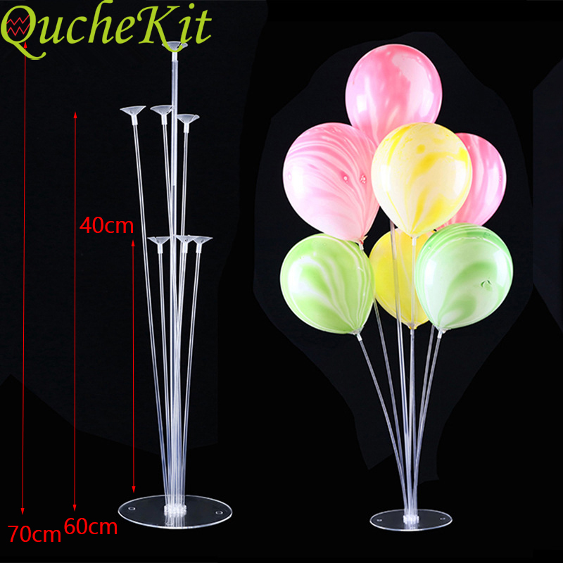 Birthday Party Balloons Stand Balloon Holder Balloon Stick Balloons Column Base Wedding Party Decor <font><b>Ballon</b></font> <font><b>Supporting</b></font> Rod image