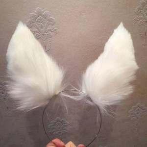Image 4 - MMGG 새로운 Arknights 플래티넘 코스프레 귀 Hairhoop Headwear 여자 여자를위한 야수 여우 스타일 머리띠