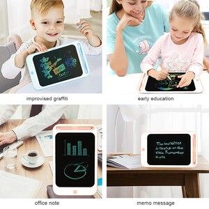 Image 5 - Beiens rysunek zabawki dla dzieci tablica do pisania LCD dzieci Tablet graficzny Scratch zabawka do malowania z anty erase Lock urodziny prezenty