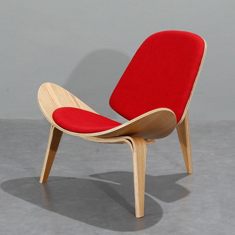 Free Shipping U Best Designer Hotel Room Chair Wegner Shell Bent