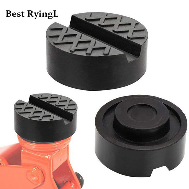 + 1pcs  Car jack Support Type Frame Rail Adapter For Pinch Weld Side Pad