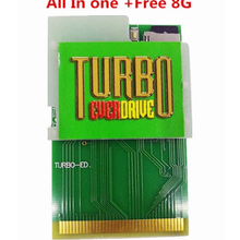 Для консоли PCE engine game card TURBO 500 в 1 поддерживает руки everdrive GrafX и GT