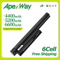 Apexway Laptop Battery for SONY VAIO BPL26 BPS26 VGP BPL26 VGP BPS26 VGP BPS26A vgp bps26 VPCEL15EC SVE141 SVE14A SVE15 SVE17