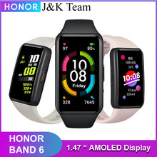 Honor band 6 smartwatch várias línguas 1.47