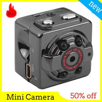 SQ8 Mini Camera 1080P 720P HD Small camera sports outdoor infrared night vision full HD aerial recorder DV Video mini camcorders