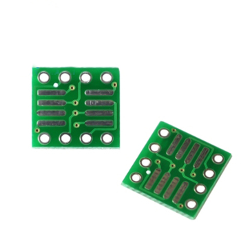 Lead-free so/msop/tssop/soic/sop8 to dip8 wide body narrow body adapter board PCB 8pin image