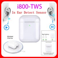 Original i800 TWS 1:1 In ear Blutooth Earphone Mini Wireless Earbud Aire 2 Headphone Aire2 Headset audifonos para celular elari