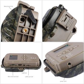 BL480L-P Trail Camera 940nm IR Wildlife Forest Hunting Trap Camera Surveillance Camera GPS Location Wild Tracking Cam для охоты 6