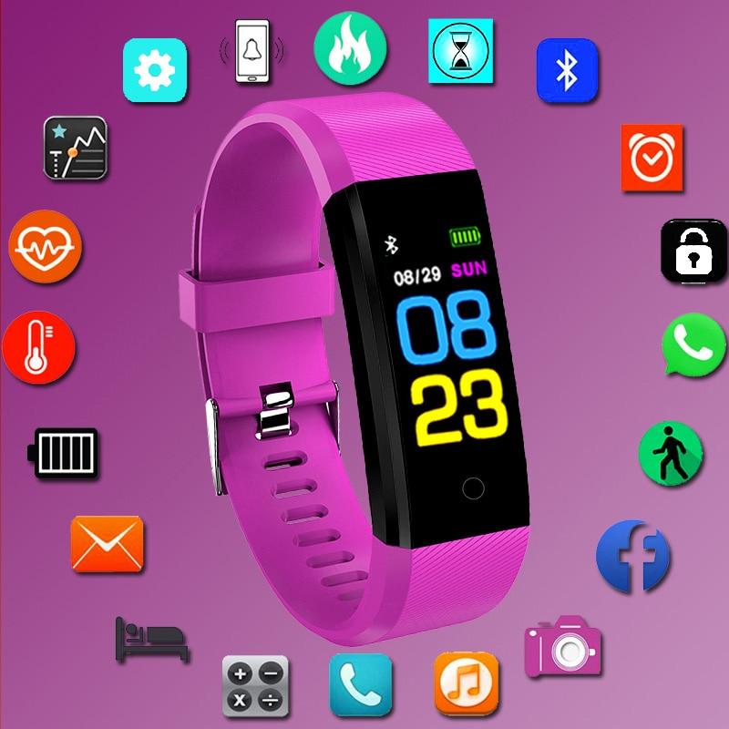 Top Smart Watch Kids Children Watches For Girls Boys Electronic Smart Clock LED Digital Sport Bracelet Student Child Smart-watch