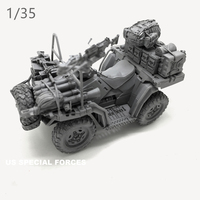 1/35 resin model kit US Navy SEAL Terrain Vehicle(Deluxe Set) resin kits