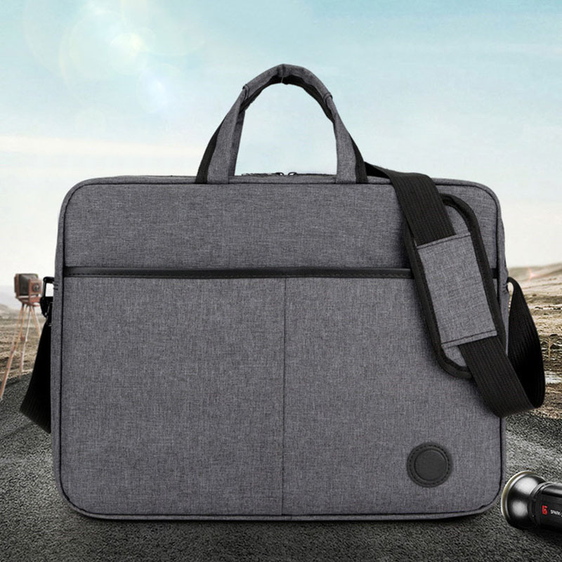 15.6 Inch Laptop Shoulder Bag Cover Case For HP DELL Computer Notebook PC Oxford+Polyester Lining 16.54''x12.20''X3.54''