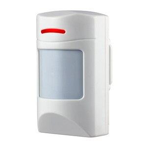 Image 2 - Detector sem fio do movimento pir do animal de estimação 433 mhz imune para a segurança da casa sistema de alarme gsm segurança anti imunidade do animal de estimação