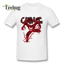 Carnage Venom Park Symbiote Badass Villain Anti-hero Artsy  Top Tees Slim fit Boy Novelty Unique Design Graphic T Shirt