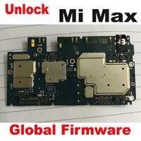 Firmware global original usado teste de trabalho desbloquear mainboard para xiao mi max placa mãe circuitos taxa cabo flexível acessório conjunto|Pacotes de acessórios para celular| |  -