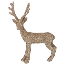 Deer Figurine Color Light Gold 10 6 14 5 cm Without Package