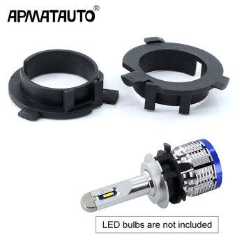 2 sztuk LED H7 uchwyt żarówki dla Hyundai Veloster i30 H7 LED reflektor reflektor H7 podstawa Adapter dla KIA k4 K5 Sorento CEED tanie i dobre opinie APMATAUTO Reflektory CN (pochodzenie) for KIA K4 K5 Sorento CEED 2012-2013 for Hyundai Veloster for Hyundai i30